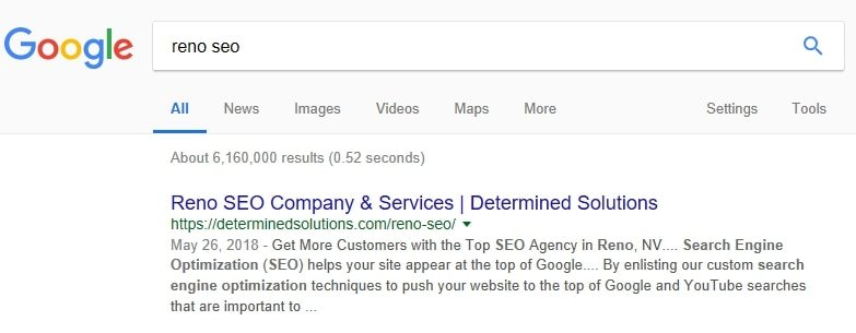 determined solutions seo company